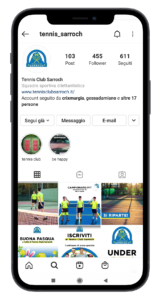 Instagram tennis club sarroch